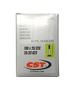 Chambre à Air Route CST 700x25/32c Presta 48mm
