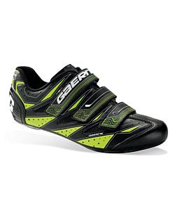 Gaerne G.Avia Chaussures Route Noir / Jaune Fluo