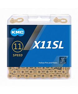 Chaîne KMC X11 SL Gold 11v