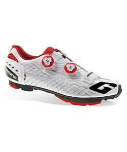 Gaerne G.Sincro Chaussures VTT Blanc-Rouge