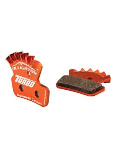 "Alligator Turbo ""Cooling"" Sram Guide / Avid Trail Plaquettes semi-métalliques"