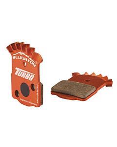"""Alligator Turbo """"Cooling"""" Magura MT2 / MT4 / MT6 / MT8 Plaquettes semi-métalliques"""