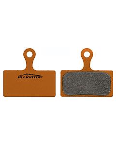 Alligator Shimano XTR / XT / LX Paire Plaquettes Semi métalliques