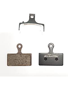Alligator Shimano XTR / XT / SLX Paire Plaquettes Semi métalliques OEM