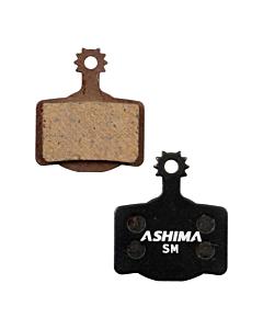 Ashima Magura MT2-MT8 Paire Plaquettes Semi Métalliques