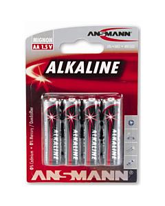 Piles alcalines AA 1,5 V (x4)
