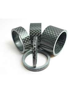 "Gambacicli Entretoise en carbone 1"" 1/8 (3mm)"