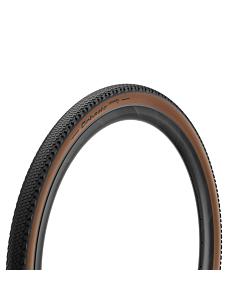 Pneu Pirelli Gravel Belt H 650B Noir / Marron