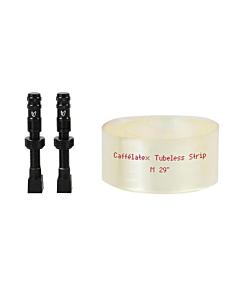 "Flaps de Conversion Tubeless Effetto Mariposa Caffélatex Strip 29"" (2 roues kit)"