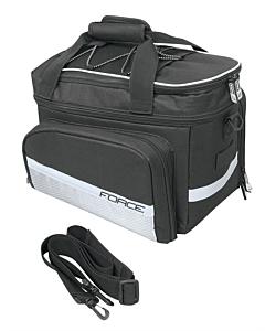 Force Grand Sac Vélo Porte-Bagages 20 Litres