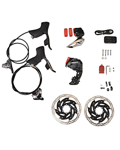 Kit Upgrade Sram Red eTap AXS HRD Frein à Disque 6 trous I.S. 2x12v