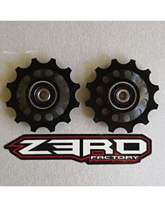 Zerofactory Kuro Plus Paire de Galets Shimano 12T Dura-Ace 9100