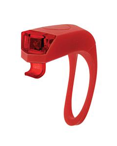 """Girino"" Flash Double LED en Silicone Arrière Rouge"