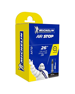 Chambre à Air Michelin AirStop Butyl C4 26x1.45/2.60 Presta Valve 40mm