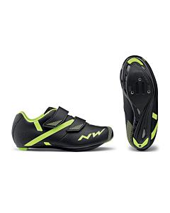 Chaussures Northwave Torpedo 2 Junior Noir / Jaune Fluo