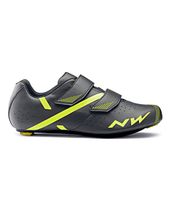 Chaussures Route Northwave Jet 2 Anthracite / Jaune Fluo