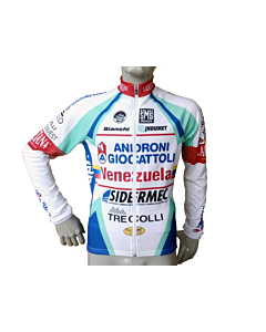 Santini Team Androni PRO Maillot Manches Longues 2014