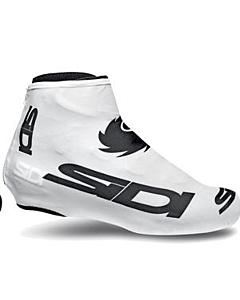 Sidi Couvre-Chaussures Chrono Blanc Logo Noir (M-L-XL)