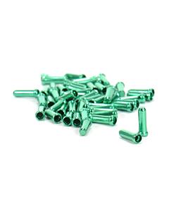 Embouts de Câbles de Frein / Derailleur Alligator - 10 Pièces Vert